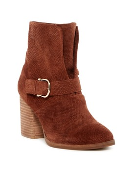 Lavoy Block Heel Boot by Isola