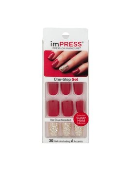 Im Press Press On Manicure One Step Gel Tweetheart   30 Ct by Impress