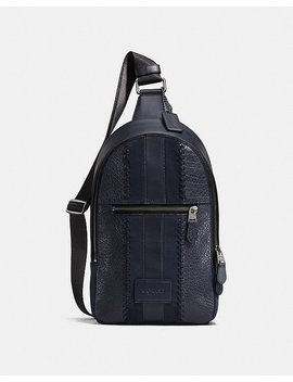 Campus Pack With Baseball Stitch by Coach