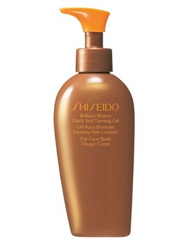'brilliant Bronze' Quick Self Tanning Gel by Shiseido