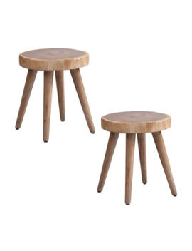 Ink + Ivy Arcadia Dining Stool Set Of 2 by Ink + Ivy