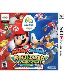 Mario And Sonic Rio 2016 (Nintendo 3 Ds) by Nintendo