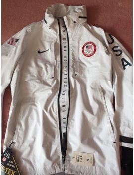Nike Lab Usa Winter 2018 Olympic Shaun White Gore Tex Jacket Nike Polo Men's Sz M by Nike