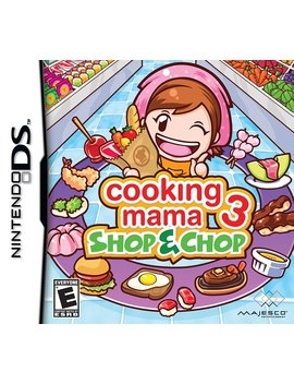Cooking Mama 3: Shop & Chop   Nintendo Ds by Majesco
