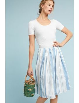 About Town Striped Skirt by Eri + Ali