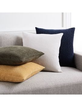 Textured Boucle Pillow Covers by West Elm