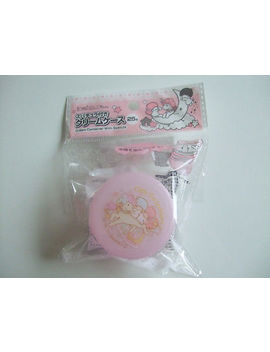 New!! Sanrio Little Twin Stars Kawaii Cream Container With Spatula by Ebay Seller