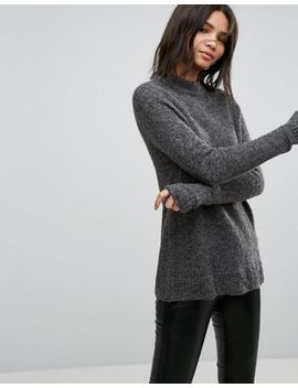 B.Young Fluffy Mohair Mix Sweater by Sweater