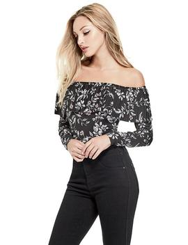 Corset Tee Bodysuit by Guess
