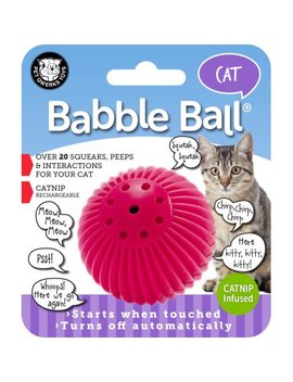Cat Babble Ball Catnip Infused by Pet Qwerks