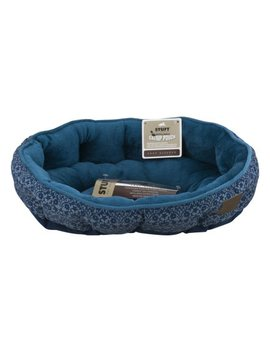 "Stuft Pet Bedding Easy Sleeper Pet Bed, 19"" X 14"", Turqoise by Stuft"