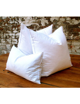 Feather/Down Pillow Insert by Etsy