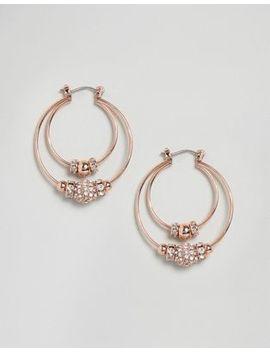 Coast Double Hoop Earrings by Coast