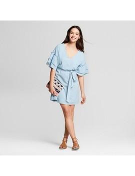 Women's Ruffle Sleeve Dress   Universal Thread™ by Universal Thread™