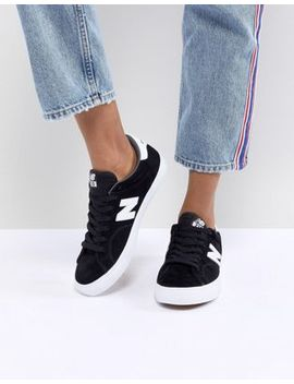 New Balance 210 Skate Trainers In Black by New Balance