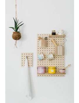 Big Rectangle Pegboard by Etsy