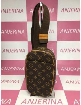 Louis Vuitton Monogram Pochette Gange M51870 Men's Shoulder Bag Monogram by Louis Vuitton