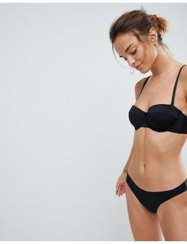 Asos Basic Microfibre Mix & Match Moulded Multiway Balconette Bra by Asos Collection