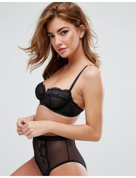Asos Ruby Mix & Match Picot Trim Lace Underwire Bra by Asos Collection