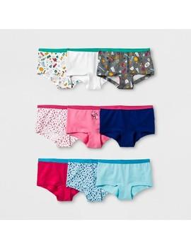 Girls' 9pk Boy Shorts   Cat & Jack™ by Cat & Jack™