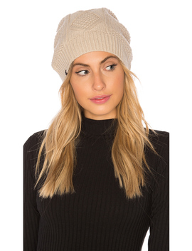 Fleece Lined Cable Knit Beanie by Plush