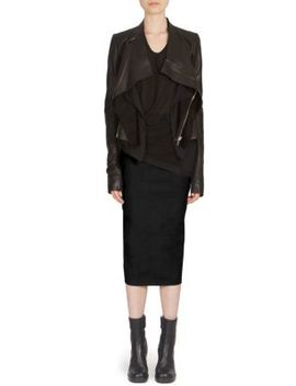 Soft Draped Skirt by Rick Owens