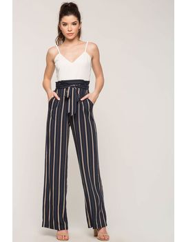 Amalia Stripe Jumpsuit by A'gaci