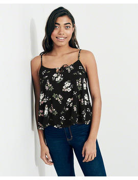 Tie Front Easy Cami by Hollister