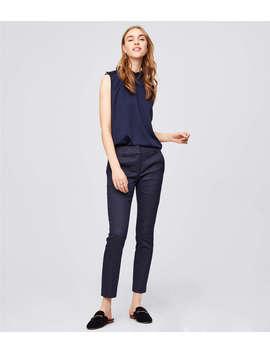 Skinny Dot Jacquard Pants In Marisa Fit by Loft