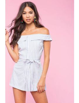 Tasha Off Shoulder Romper by A'gaci