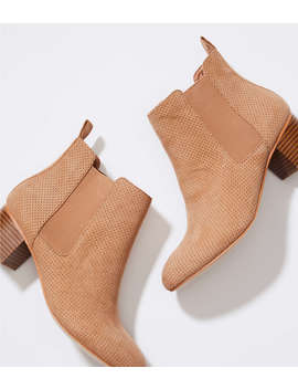 Perforated Chelsea Boots by Loft