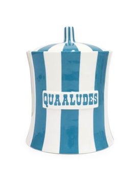 Quaaludes Canister by Jonathan Adler