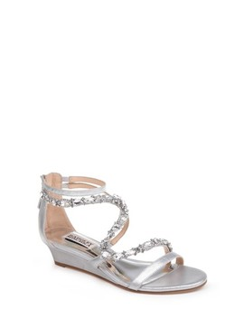Sierra Strappy Wedge Sandal by Badgley Mischka