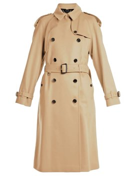 Westminster Belted Cotton Trench Coat by Burberry