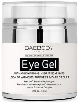 Baebody Eye Gel For Dark Circles, Puffiness, Wrinkles And Bags   The Most Effective Anti Aging Eye Gel For... by Baebody