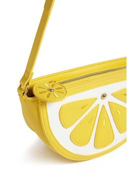 Lemon Wedge Crossbody Bag by Forever 21