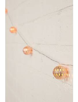 Led Copper Ball String Lights by Forever 21