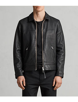 Hayne Leather Jacket by Allsaints