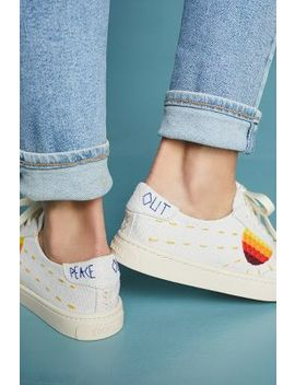 Soludos Embroidered Sun Sneakers by Soludos
