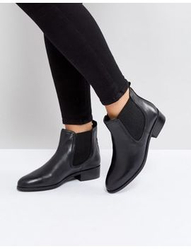 Rule London Leather Flat Chelsea Boot by Shoes