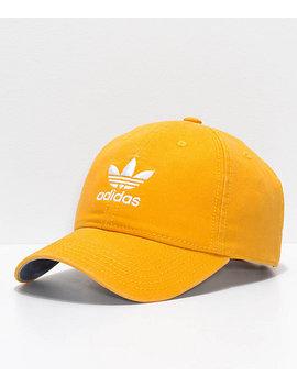 Adidas Women's Original Trace Yellow Strapback Hat by Adidas