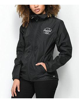 Herschel Supply Co. Voyage Black Windbreaker Jacket by Herschel Supply
