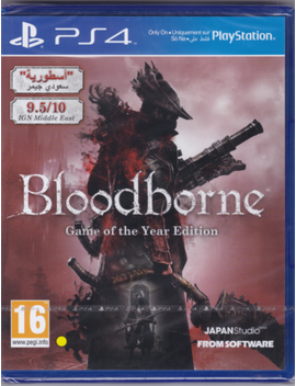 Bloodborne: Game Of The Year Edition [Play Station 4 Ps4, Region Free, Arpg] New by Ebay Seller