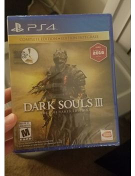 Ps4 Dark Souls Iii 3 The Fire Fades Complete Edition Sealed Brand New by Sony