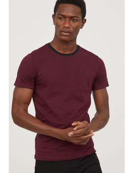 T Shirt Muscle Fit by H&M
