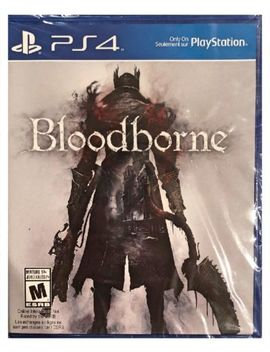 Bloodborne Sony Ps4 Play Station 4 Brand New Sealed Free Us Shipping Nice by Sony