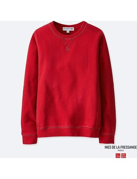Women Idlf French Terry Long Sleeve Pullover by Uniqlo