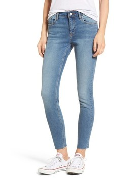 Marley Raw Hem Super Skinny Jeans by Vigoss