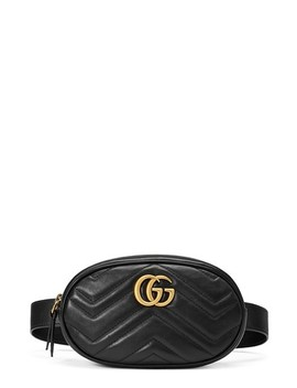Gg Marmont Matelassé Leather Belt Bag by Gucci