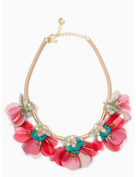 Vibrant Life Statement Necklace by Kate Spade